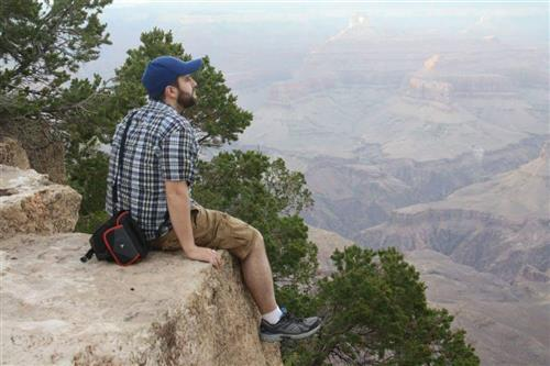 Mr. Drexel at the Grand Canyon