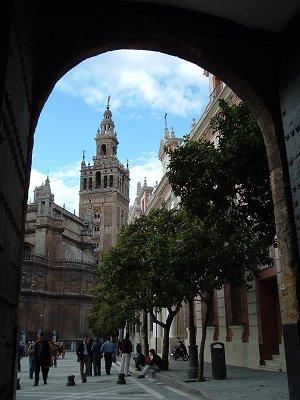 Vista de la Giralda, Sevilla