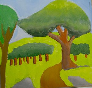 Landscape 2 color theory