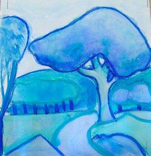 landscape 2 monochromatic