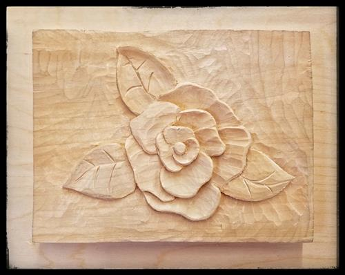 Carved Flower