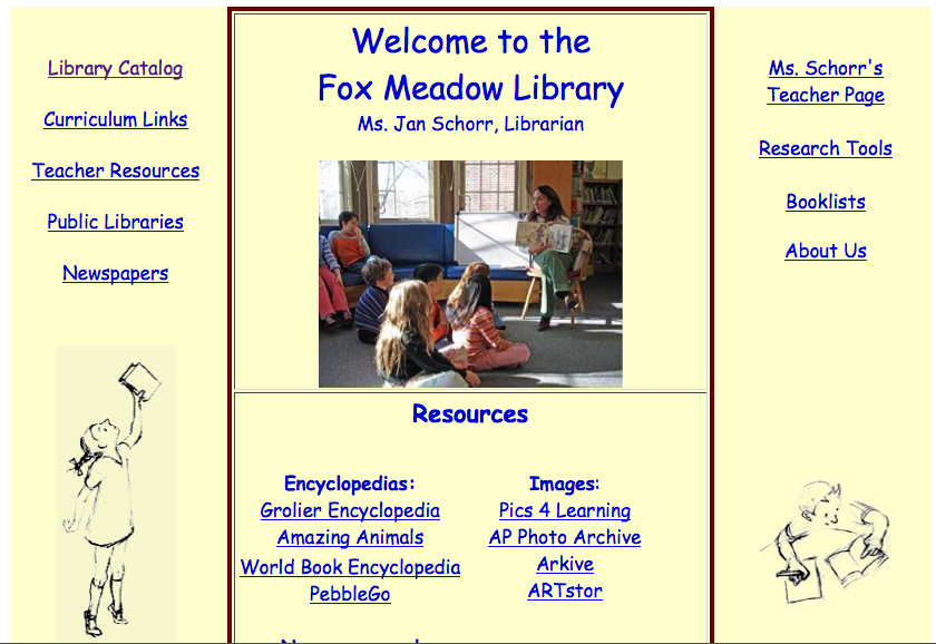 Library site