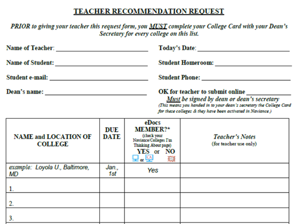 How to submit teacher recommendation online dating